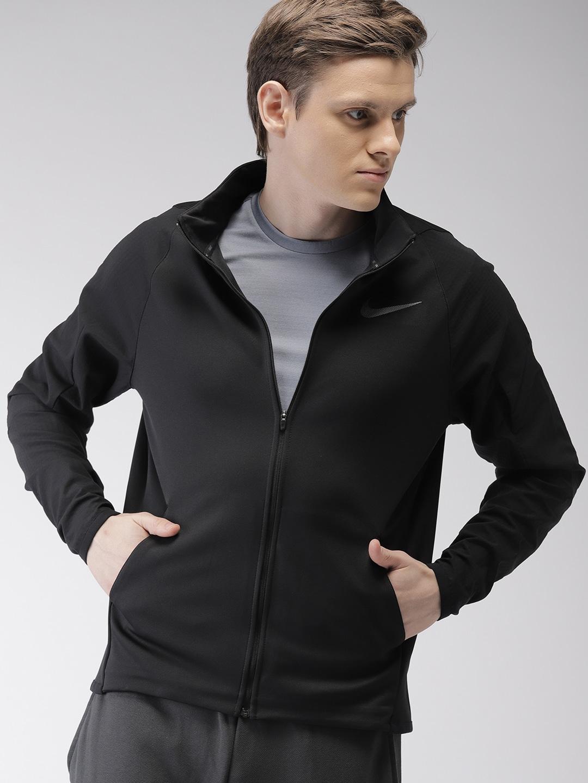 Nike Men Black Jacket - Buy Nike Men Black Jacket online in India c30b02d443