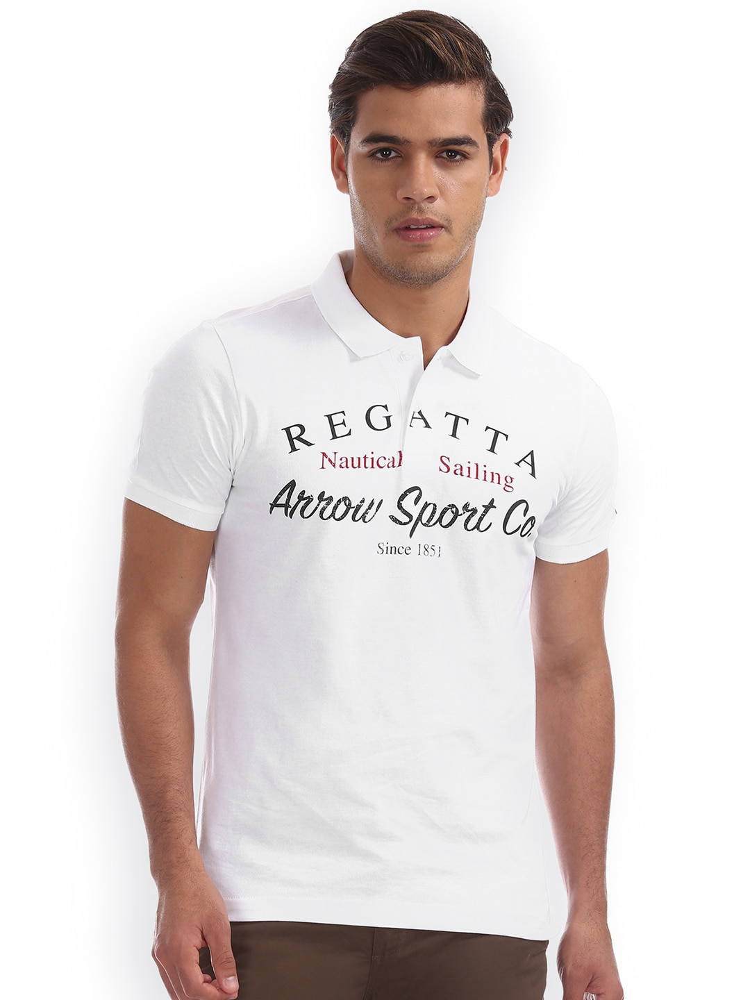 30cf0fada5 Arrow Sport Tshirts - Buy Arrow Sport Tshirts Online in India