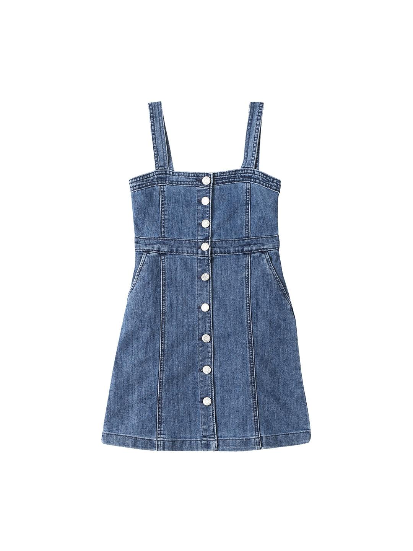 Kids Dresses Buy Clothing Online In India Myntra Mom N Bab Dress Vest Blue Denim