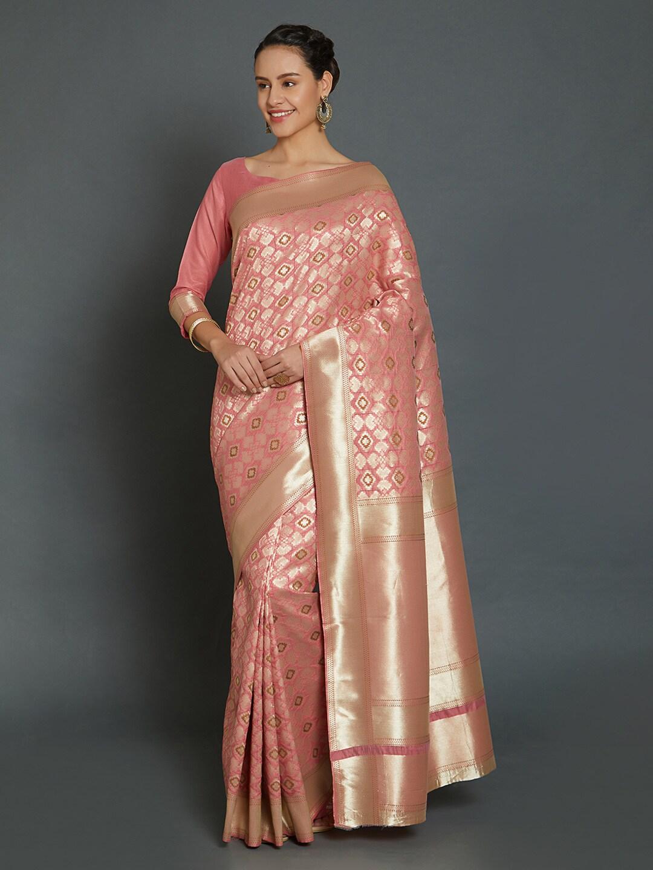 c235c489ce7 Pink Saree