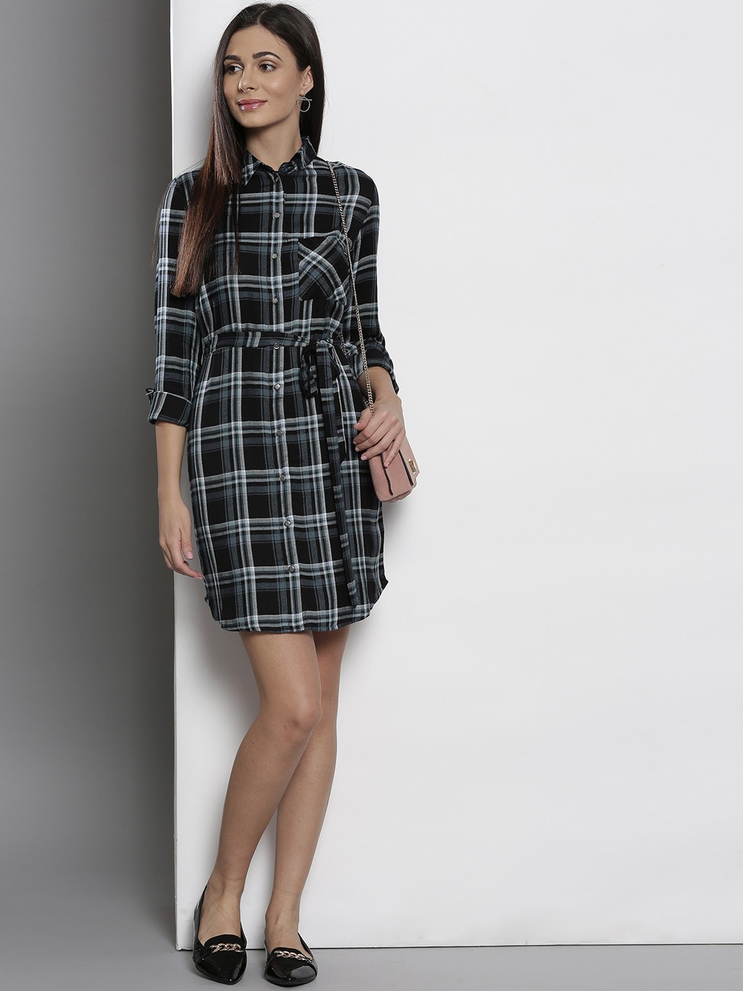 f67f24e5ce Checked Dresses - Buy Checked Dresses online in India