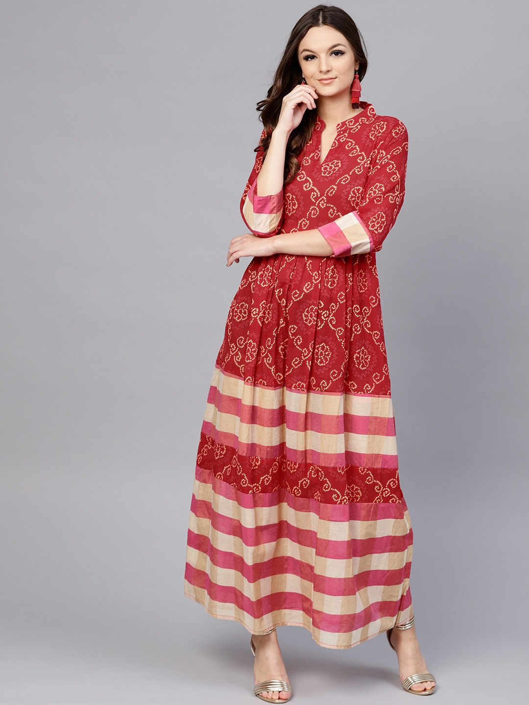 3111a2e3b6 Long Dresses - Buy Maxi Dresses for Women Online in India - Upto 70% OFF