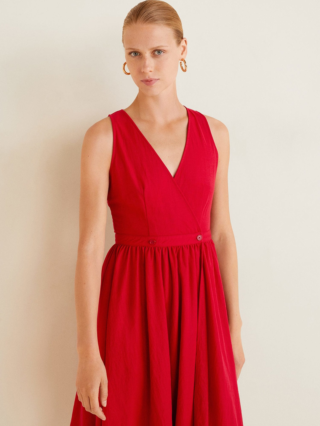 5a88a806a Mango Red Dresses - Buy Mango Red Dresses online in India
