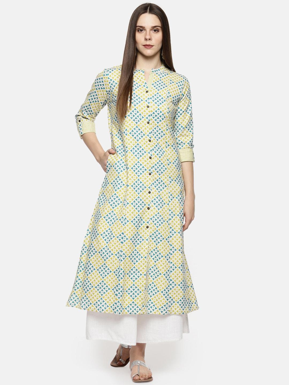 002a1992b Kurtis Online - Buy Designer Kurtis   Suits for Women - Myntra