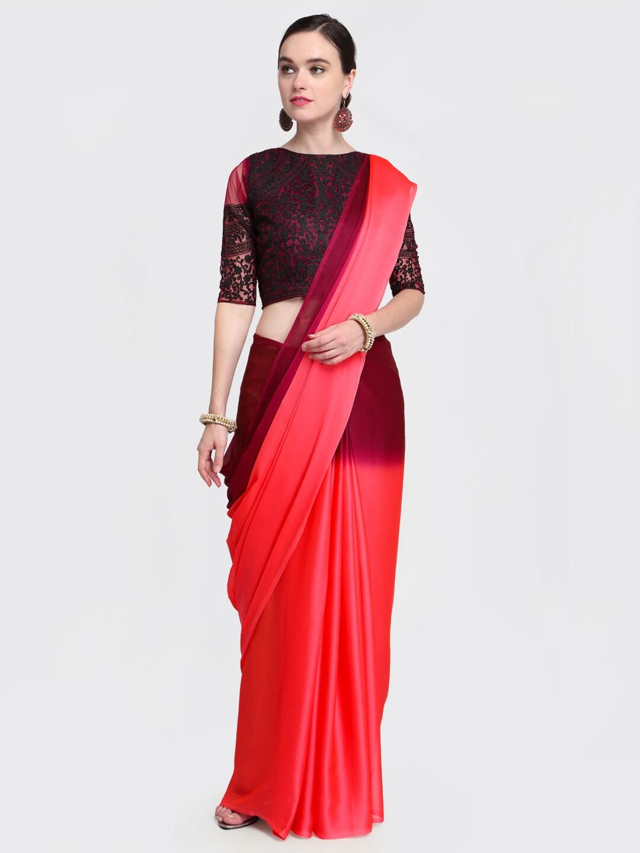 564f3e203e4f5 Net Sarees - Buy Stylish Net Saree in India Online - Myntra