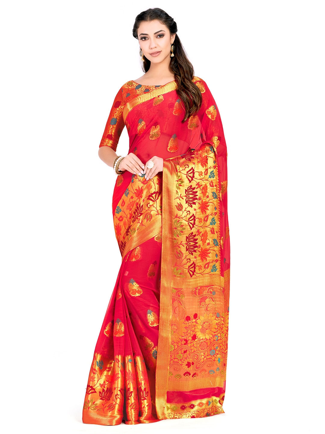 d95f95979054c Women Saree Trousers - Buy Women Saree Trousers online in India
