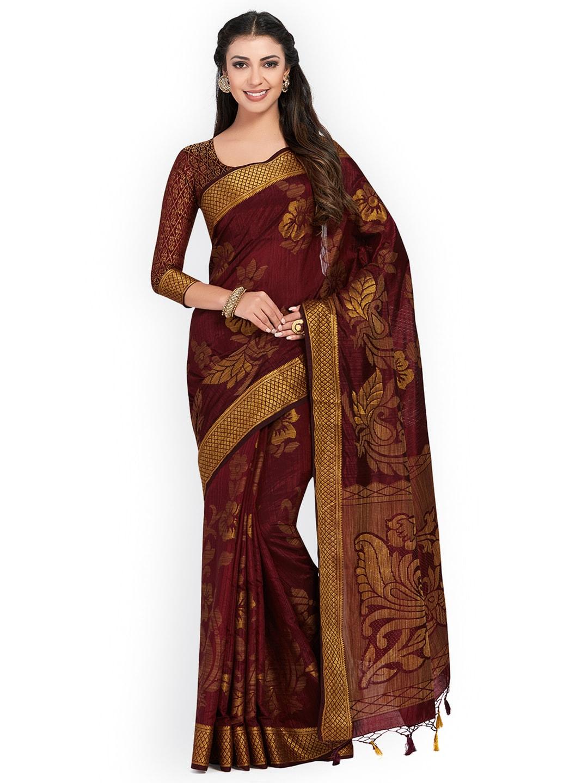 341562d94b378 Maroon Saree - Buy Maroon Sarees Online in India