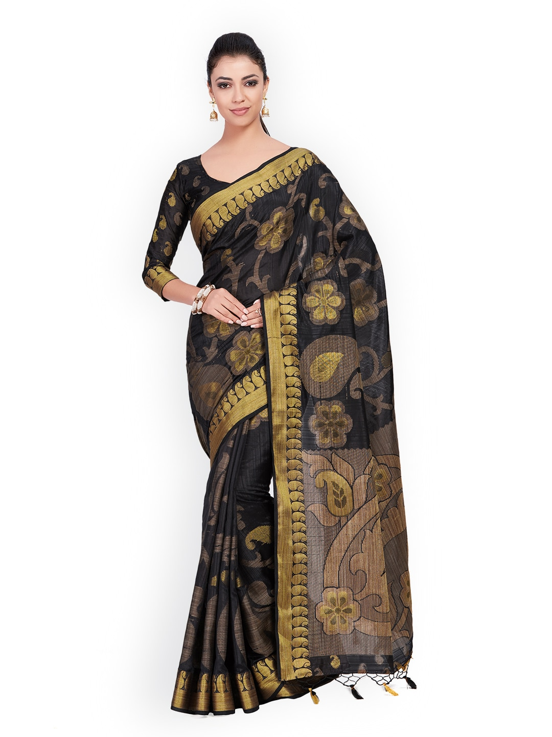 fbcf21255ae2b2 Saree - Buy Sarees Online at Best Price in India   Myntra