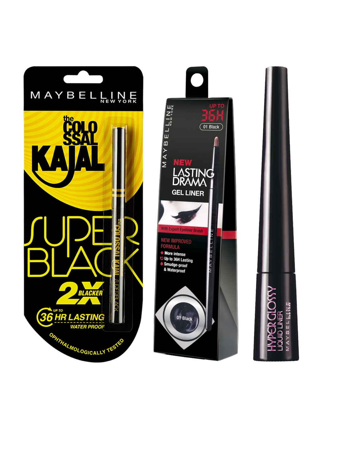 0a7df56f273 Maybelline Colossal Kajal Mascara Concealer - Buy Maybelline Colossal Kajal  Mascara Concealer online in India