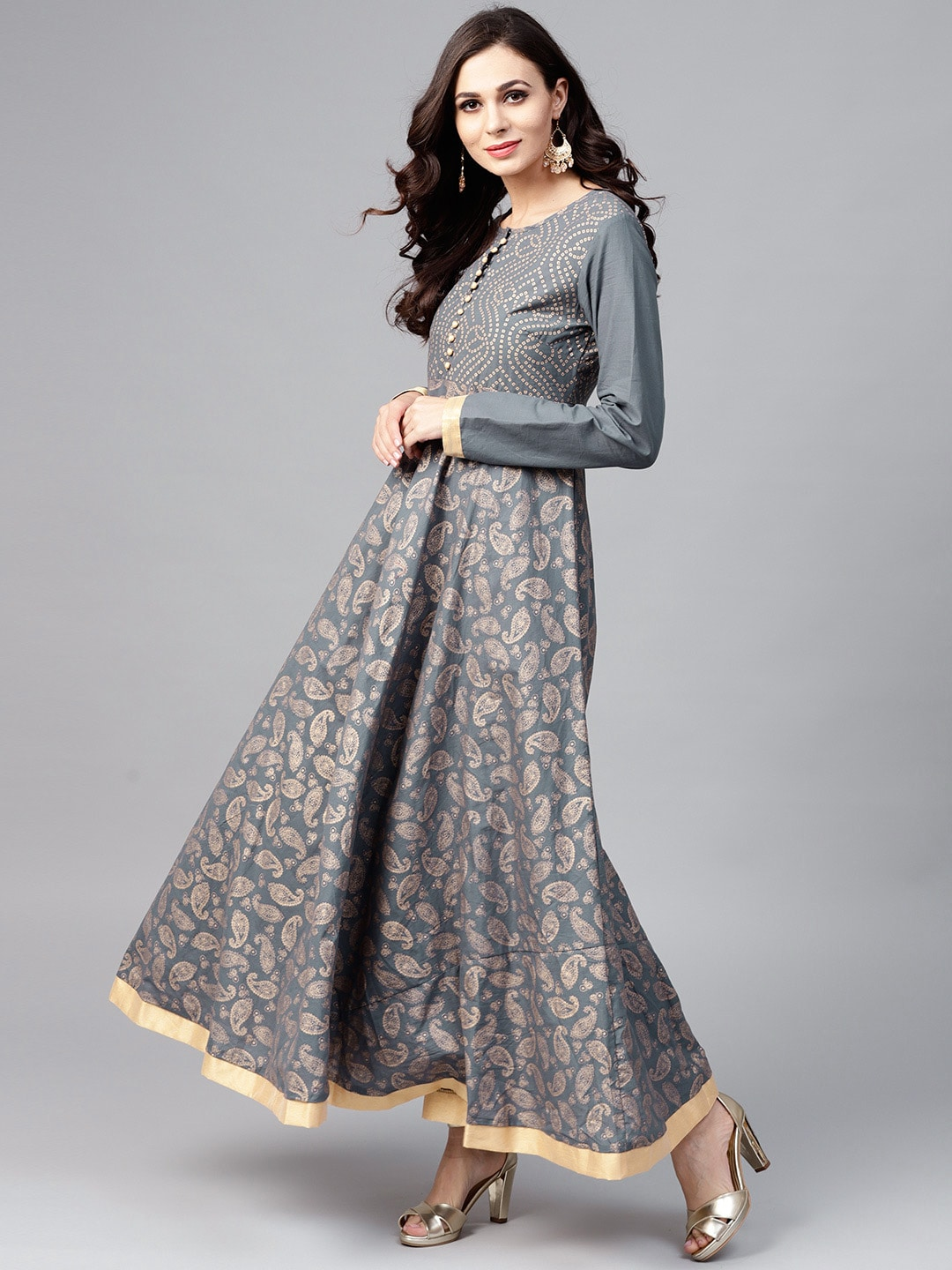 967c06b16b9 Long Sleeve Gowns - Buy Full Sleeve Gown Online in India