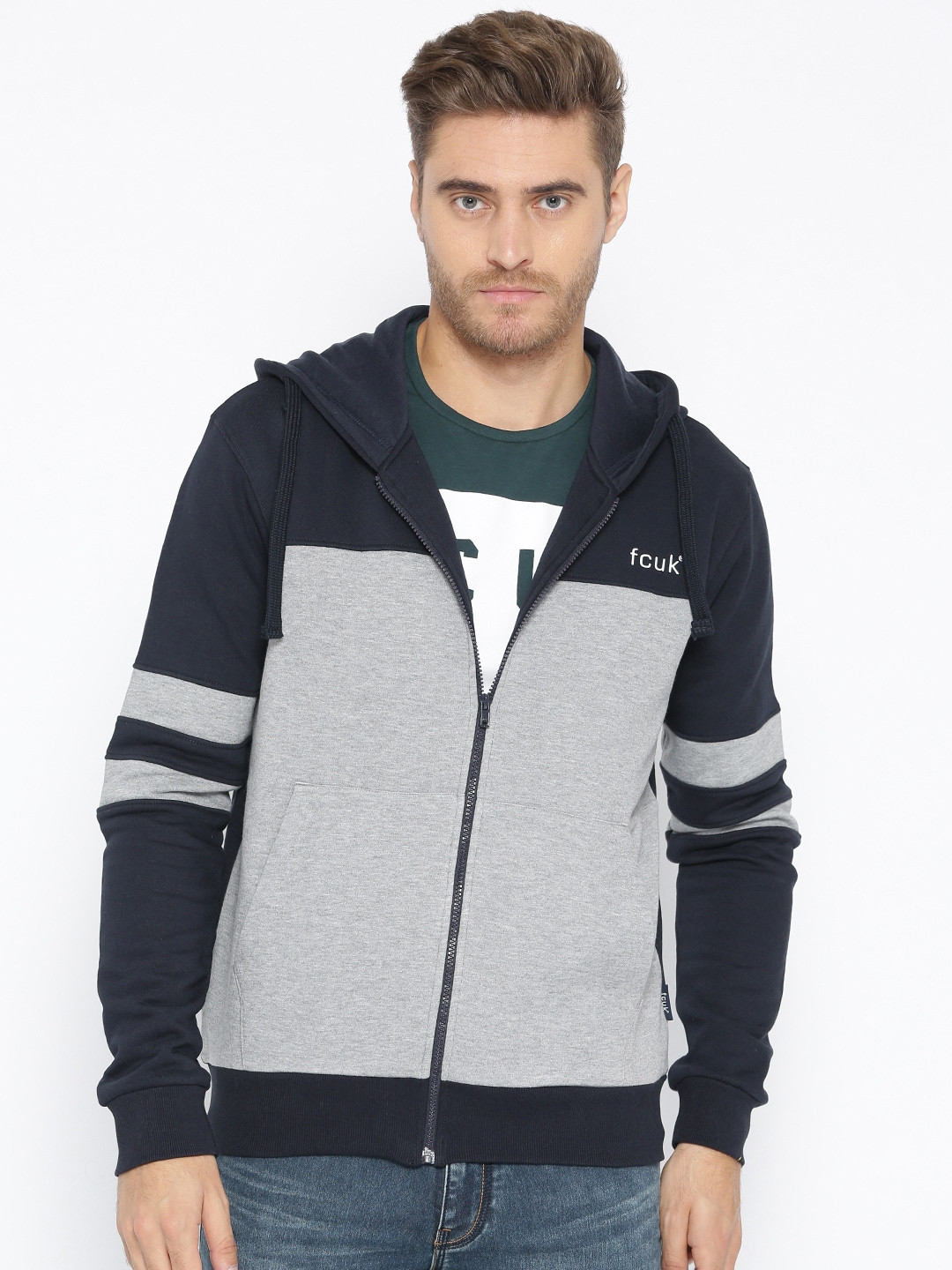 2a5545963 French Connection Men Sweatshirts Size G - Buy French Connection Men  Sweatshirts Size G online in India