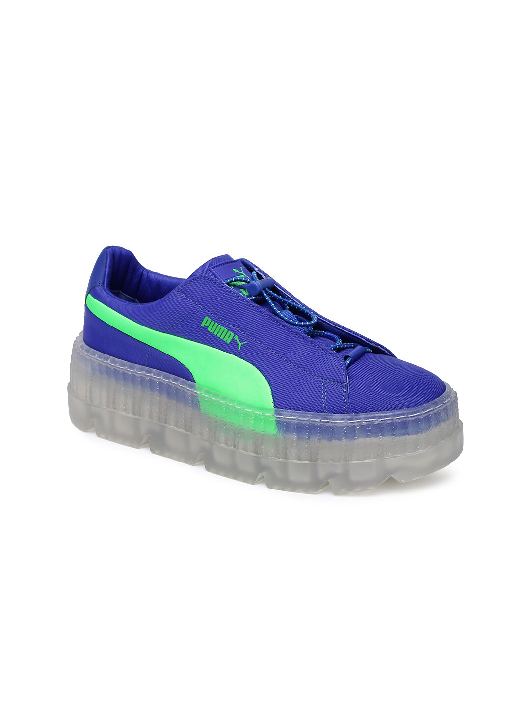 6c25acf7f2c3d Puma Women Blue Cleated Creeper Surf Sneakers