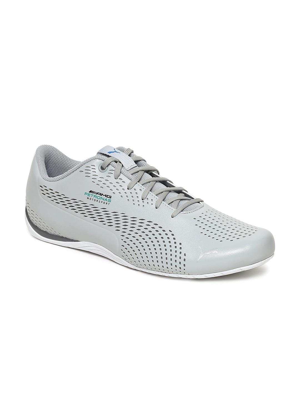 b50258d45d8 Puma Unisex Grey MAPM Drift Cat 5 Ultra II Sneakers