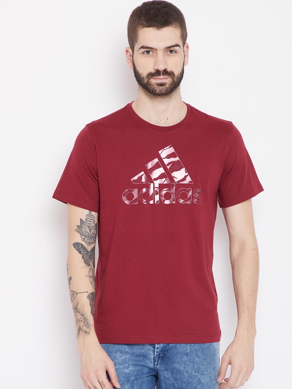 Adidas T-Shirts - Buy Adidas Tshirts Online in India  68fe8c180