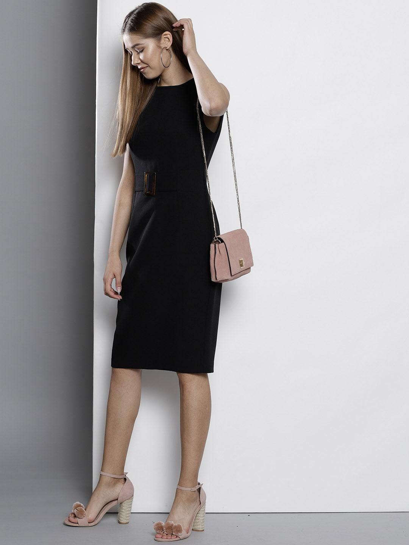 Formal Solid Dress
