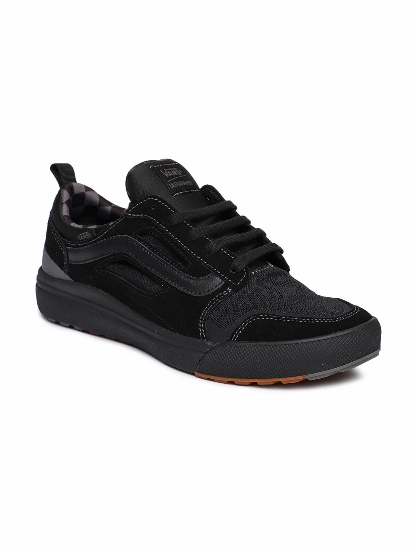 4663db9ee94d Vans Men Black Casual Shoes Myntra - Buy Vans Men Black Casual Shoes Myntra  online in India