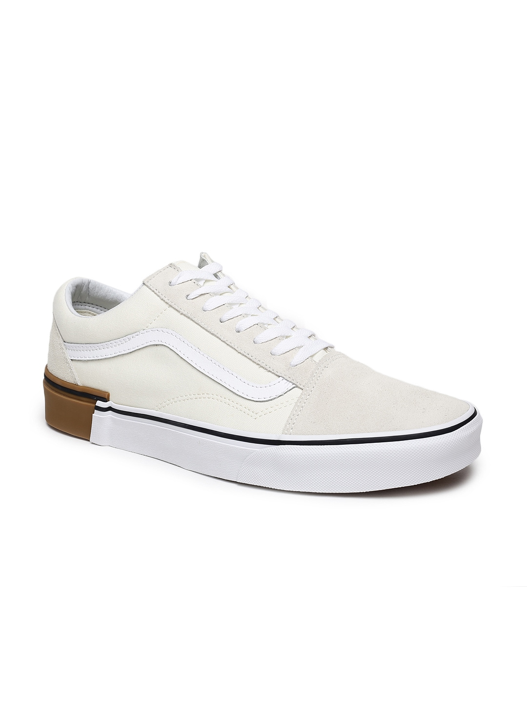 aa50374f95b8 Vans White Shoes - Buy Vans White Shoes online in India