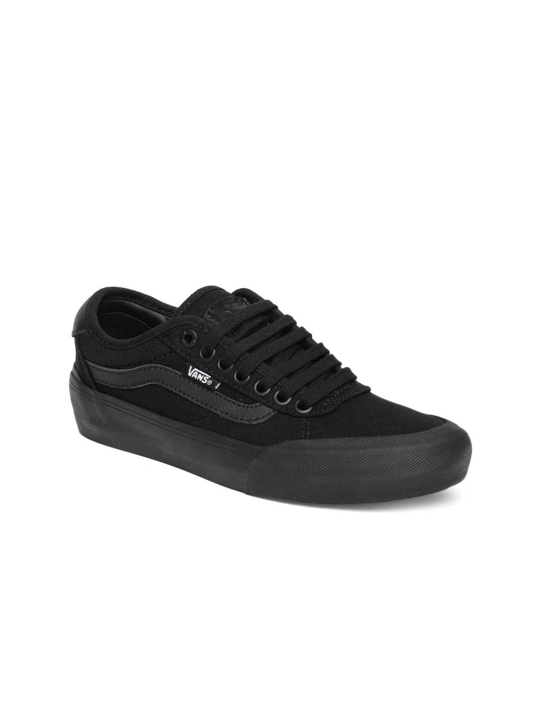 ef6bc1c7e0 Vans Men Black Casual Shoes Myntra - Buy Vans Men Black Casual Shoes Myntra  online in India