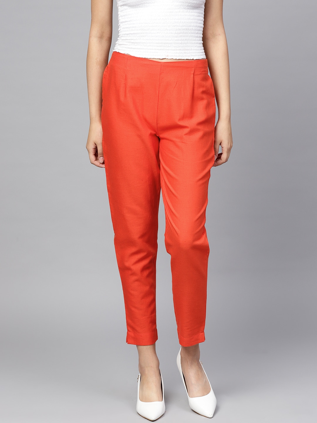1ffc82d293c3 Cigarette Pants - Buy Cigarette Trousers for Men and Women Online in India