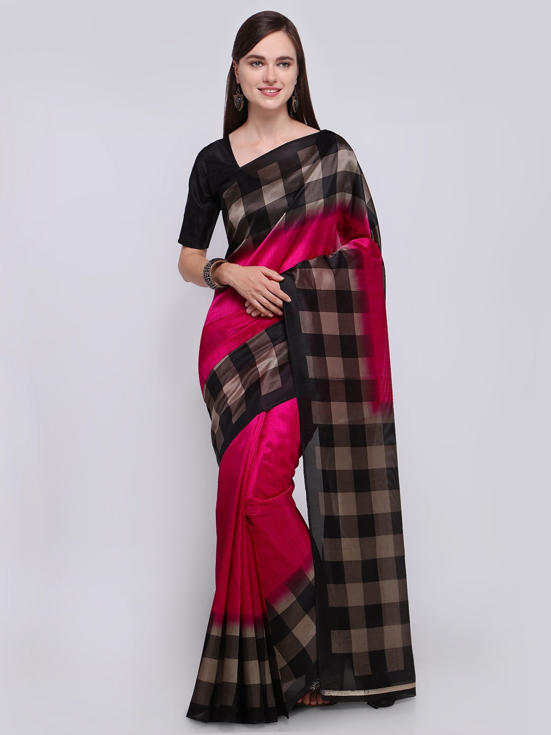 Casual Saree Shop Casual Wear Sarees At Best Price Myntra