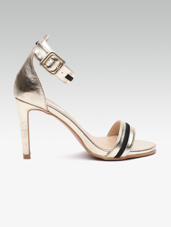 40fbc10c495 Gold Heels