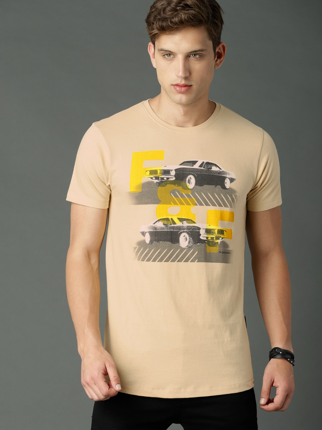 150f2afbdbc Men T-shirts - Buy T-shirt for Men Online in India