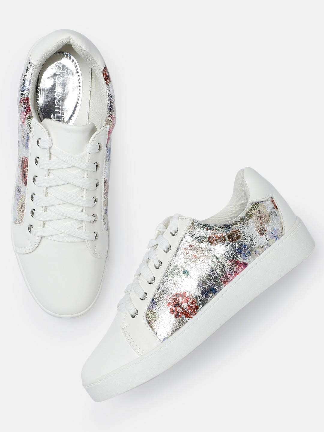 separation shoes 65902 c08e4 Printed White Casual Shoes - Buy Printed White Casual Shoes online in India