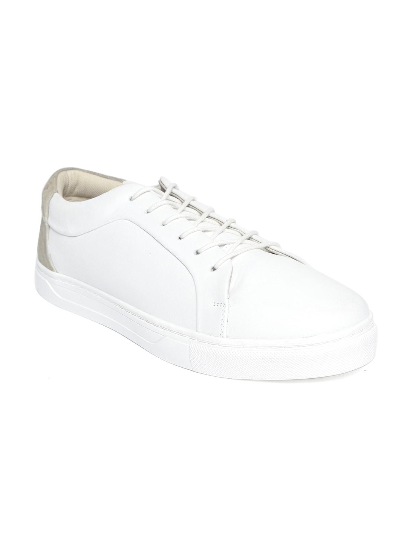 wie kauft man Großhandelsverkauf klar in Sicht Jack & Jones Men White Sneakers