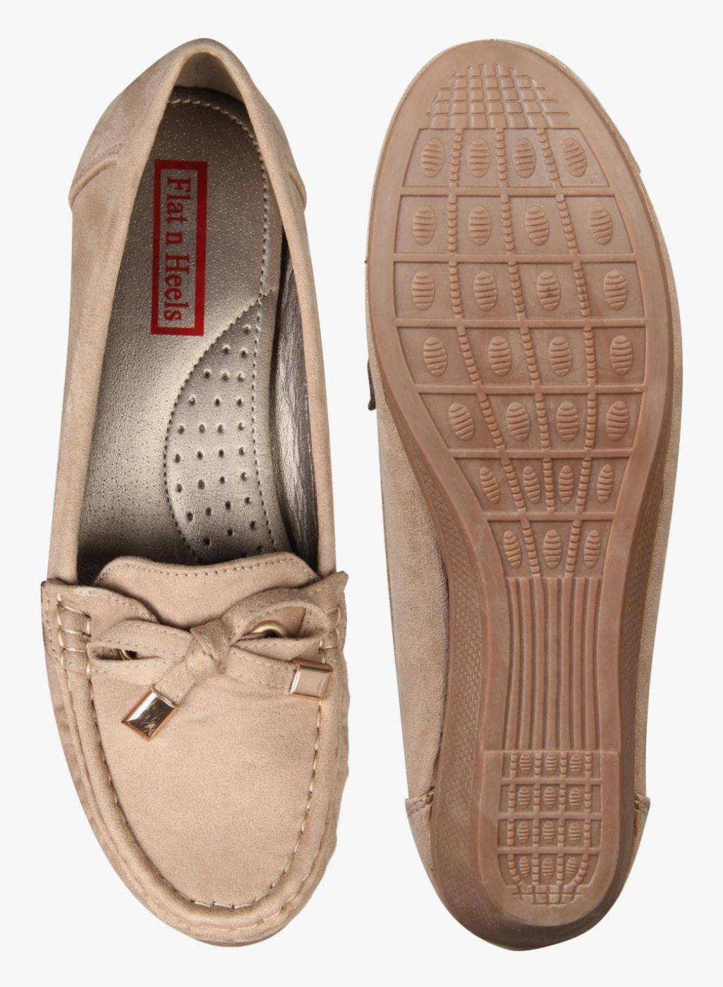 0886591c910 Flat n Heels Khaki Belly Shoes