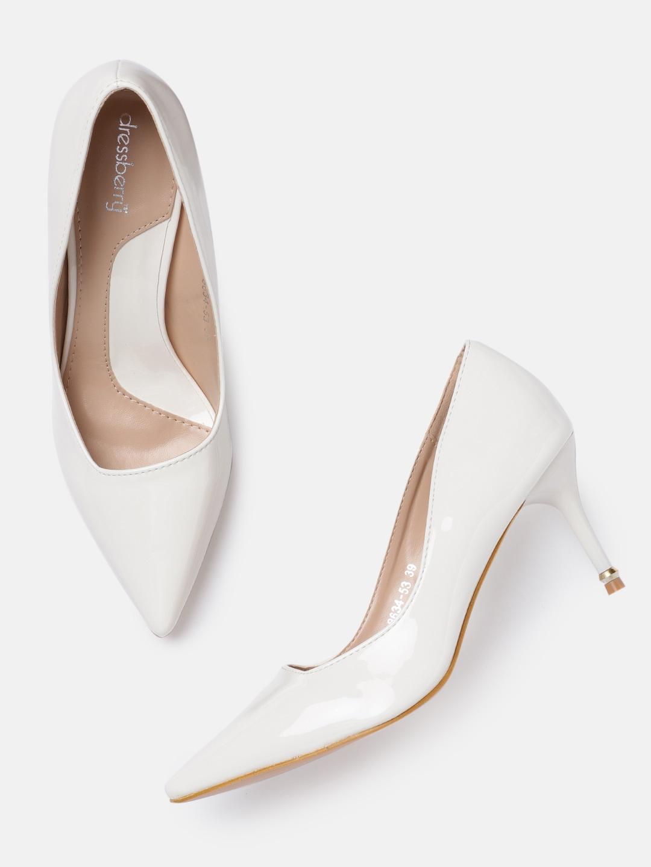 5f504c3112e Sandal White Heels - Buy Sandal White Heels online in India