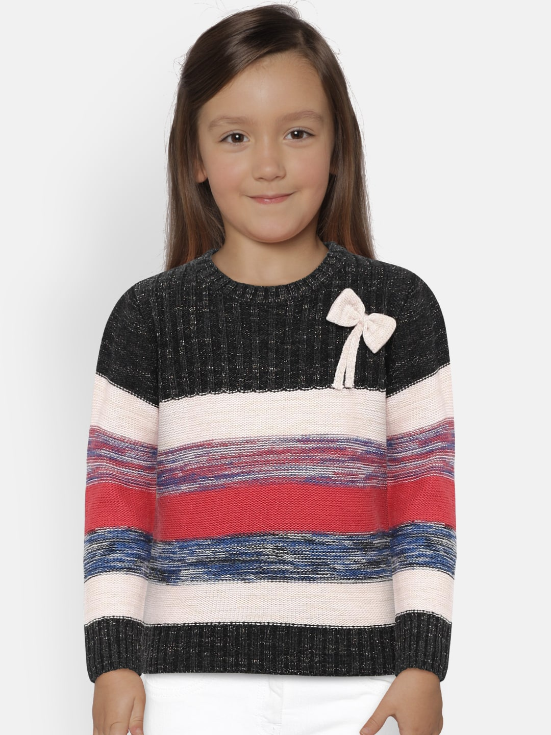 Girl s Sweaters - Buy Sweaters for Girls Online in India  626255835