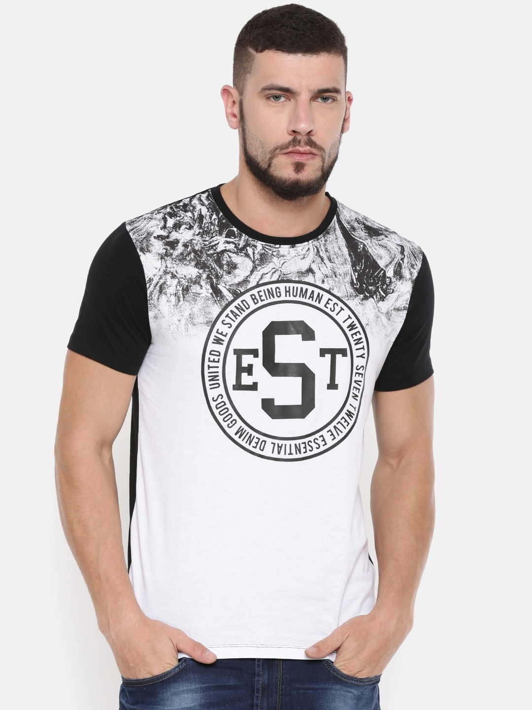 903f5da65 Buy Being Human T-Shirts Online For Men At Myntra