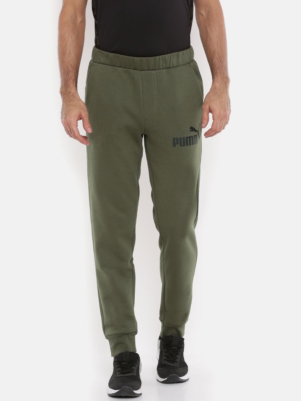 1 Olive Puma No Solid Men Joggers Fit Green Regular Sweat Ess OX8n0wkP