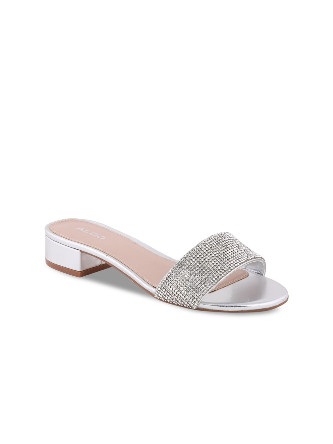 Toned Sandals Silver Embellished Women Aldo 8X0nOPwk
