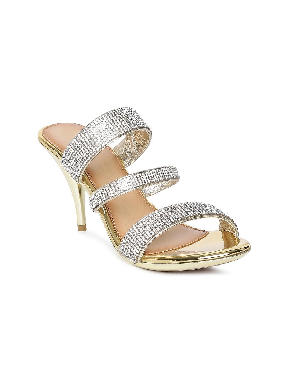 f268e29e30392 Catwalk Silver Heels - Buy Catwalk Silver Heels online in India