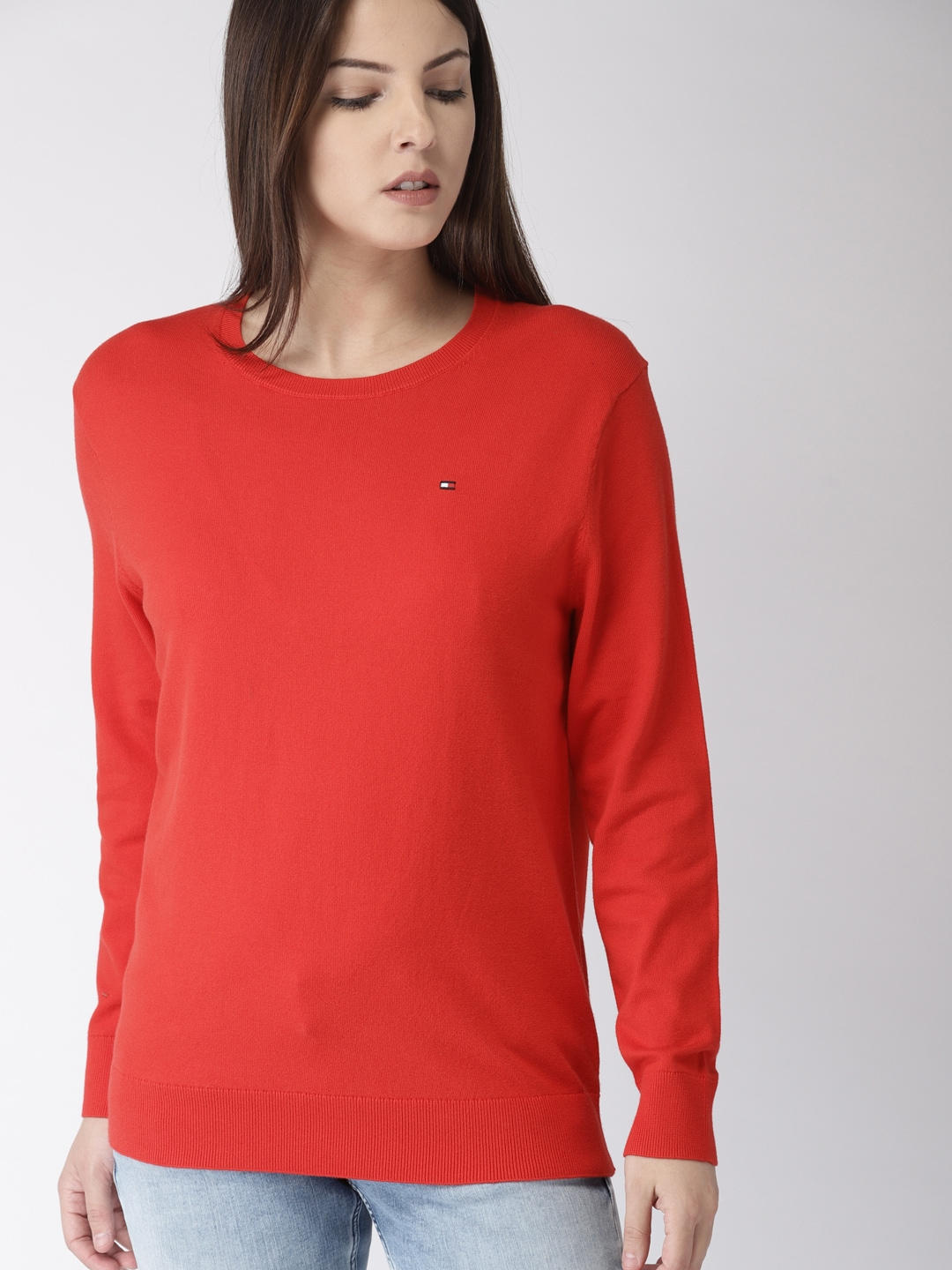 02d29153 Women Tommy Hilfiger Topwear - Buy Women Tommy Hilfiger Topwear online in  India