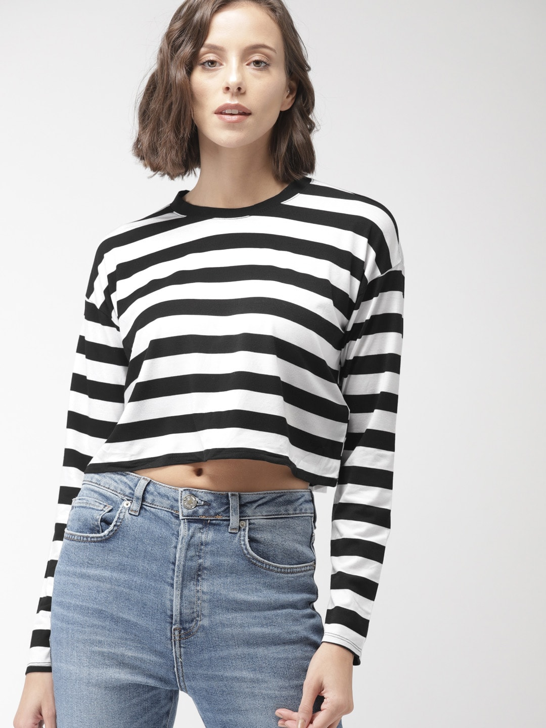 fc95e47ae2d03 Forever 21 Crop Tops - Buy Forever 21 Crop Tops online in India