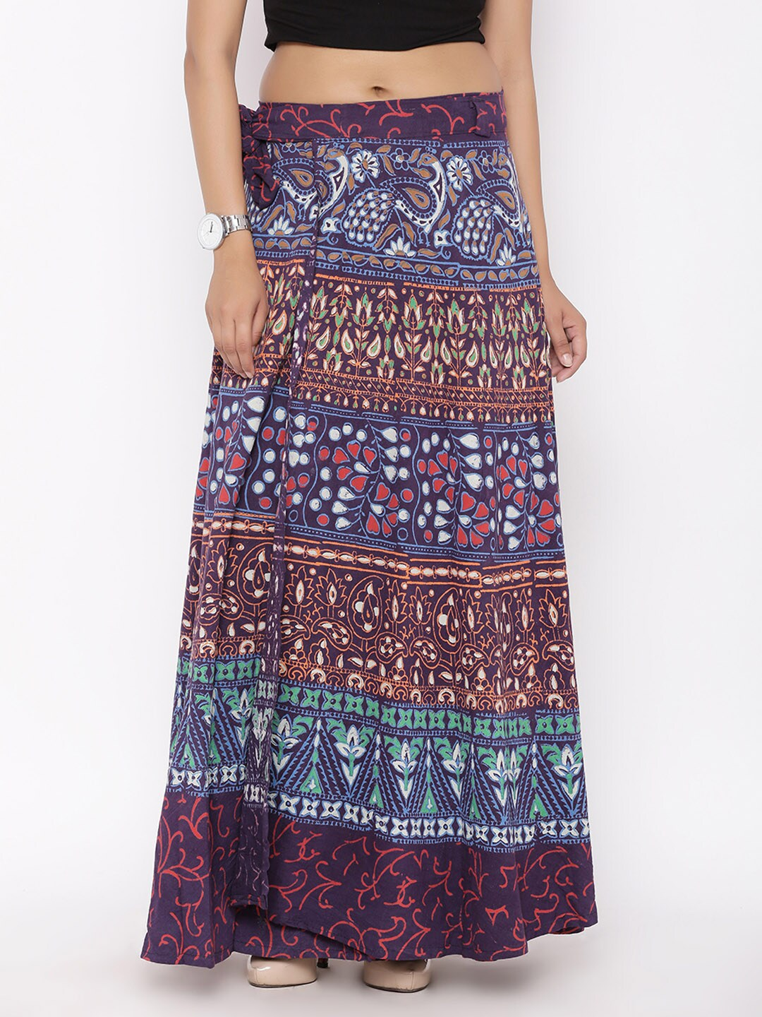 220ef32436 Wrap Skirt - Buy Wrap Skirt online in India