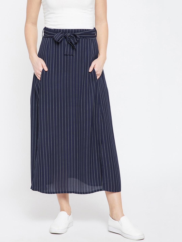 33 summer beautiful navy blue skirt catalog photo