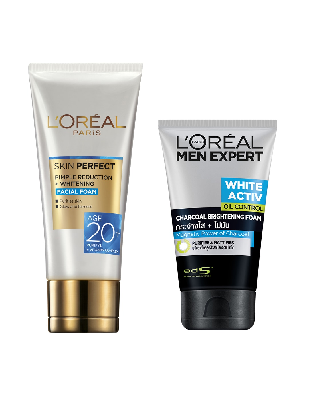 Loreal Face Wash And Cleanser Men Expert White Foam Lipstick Buy