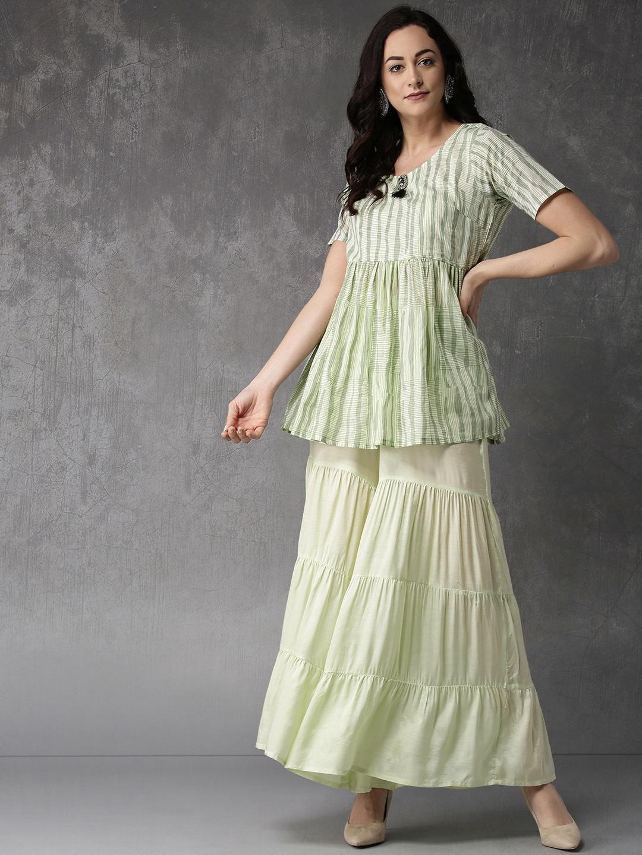 6ddc2ea3dfb Shararas - Buy Designer Sharara Suits Online