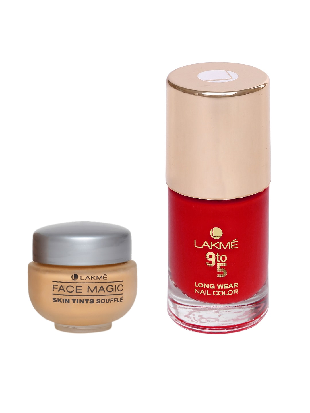Lakme Nail Polish Compact Blusher Kajal - Buy Lakme Nail Polish Compact Blusher Kajal online in India
