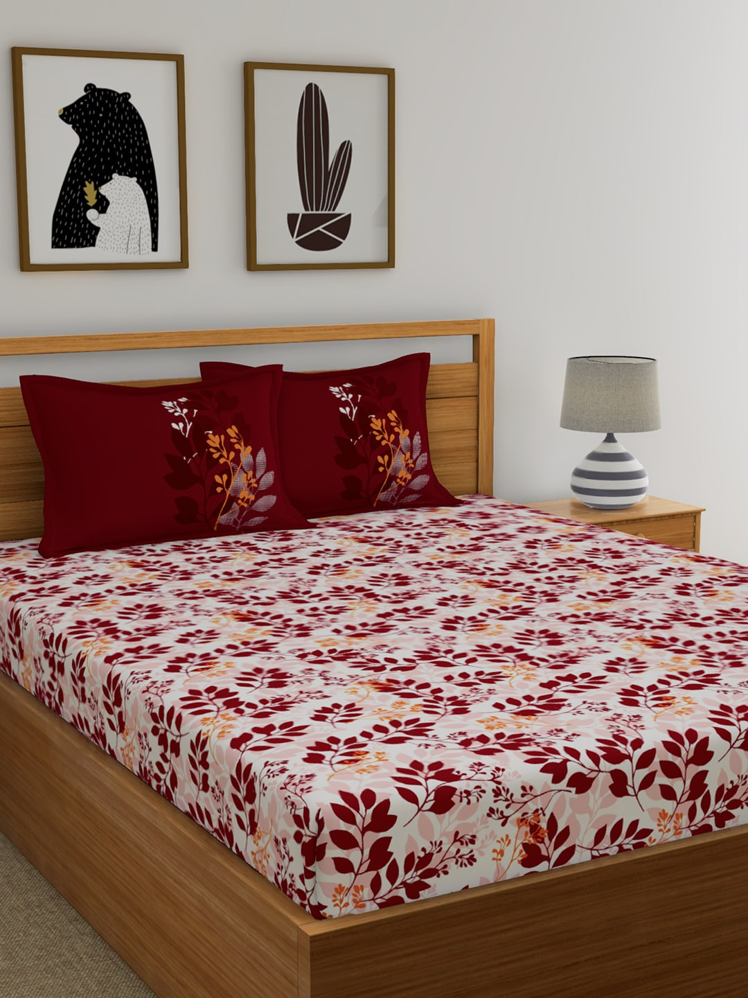 056ece0a9 Double Bed Sheets - Buy Single Bedsheets Online in India