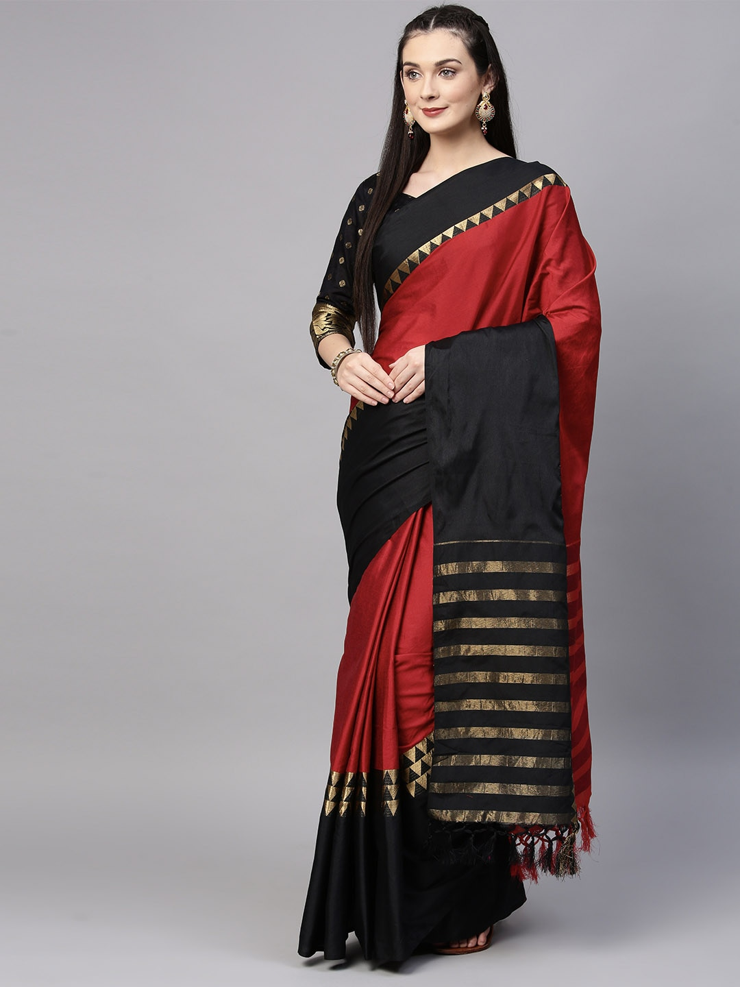 a9c0be0b7b9b4 Black Saree - Black Designer Sarees Online   Best Price