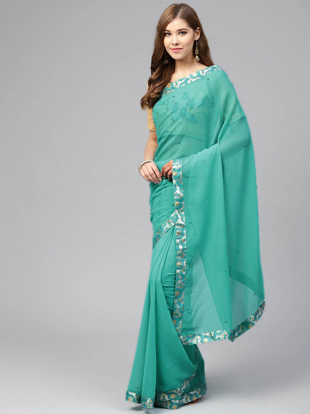 664d03f1d856ff Georgette Sarees - Buy Georgette Saree Online in India