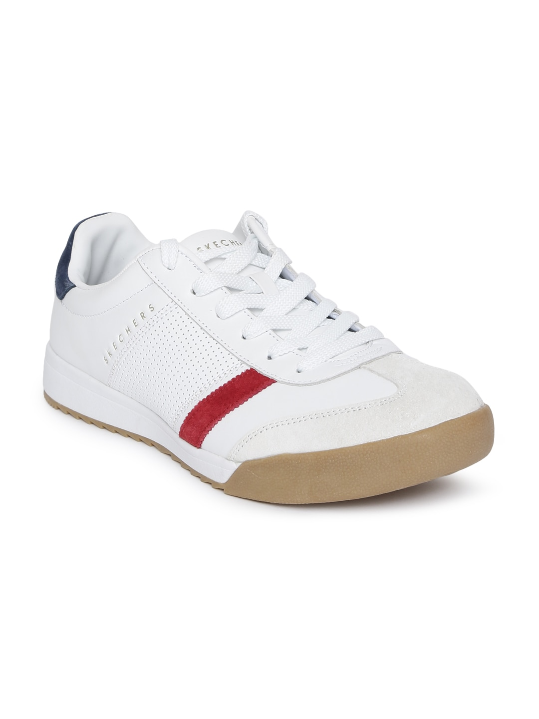 311df770be0c Skechers Synthetic Leather Casual Shoes - Buy Skechers Synthetic Leather  Casual Shoes online in India