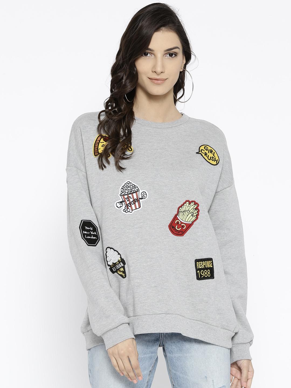f0f4bda415ef5a Crewneck Sweatshirts Forever 21