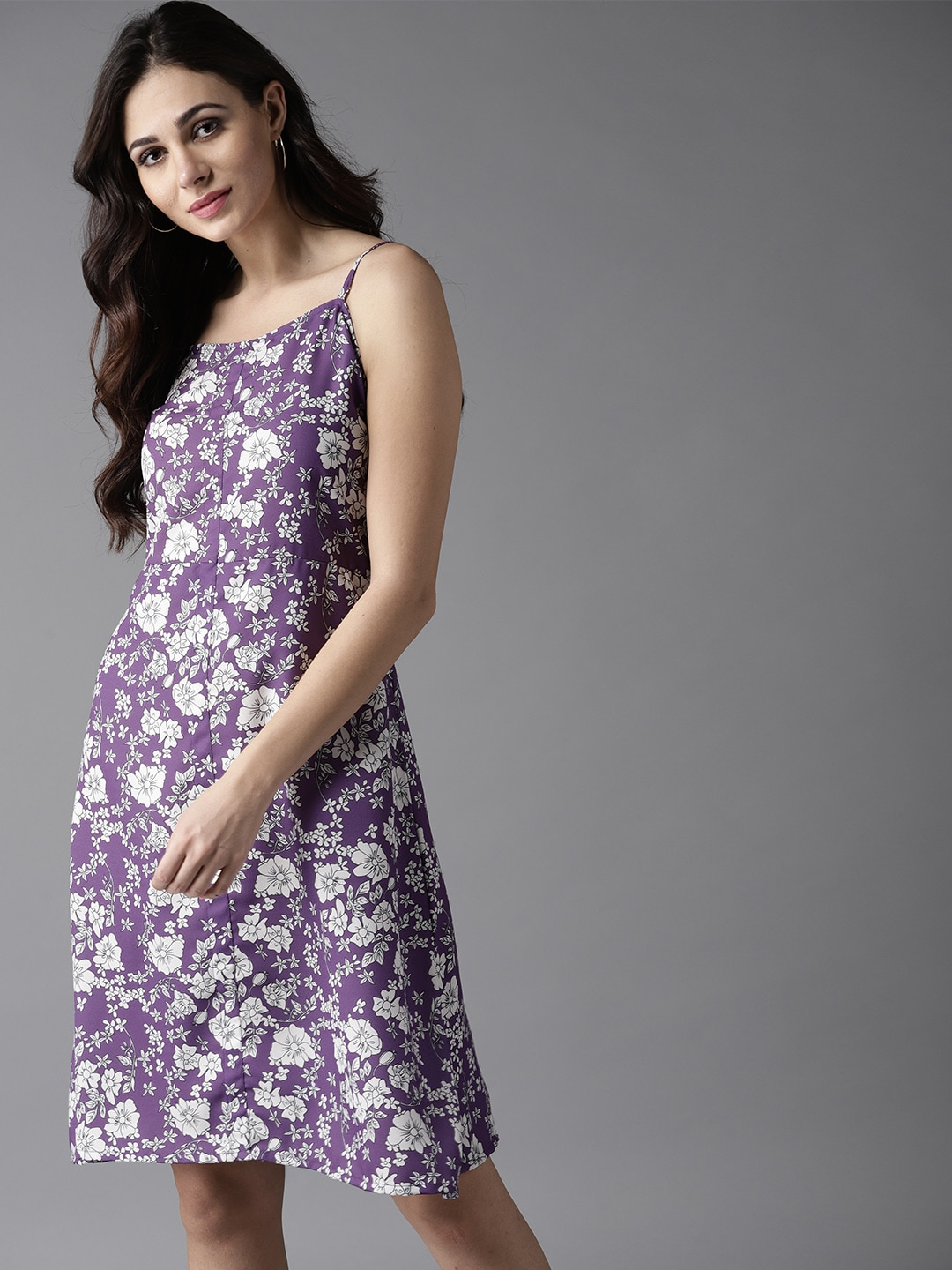 79d742f03d1d Purple Dresses - Buy Purple Dresses online in India
