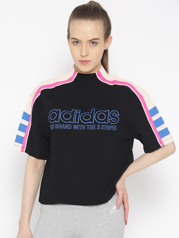 55a9333f33de Adidas T-Shirts - Buy Adidas Tshirts Online in India