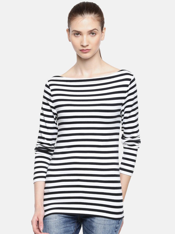 852fbe02 Women Boat Neck Tshirts - Buy Women Boat Neck Tshirts online in India